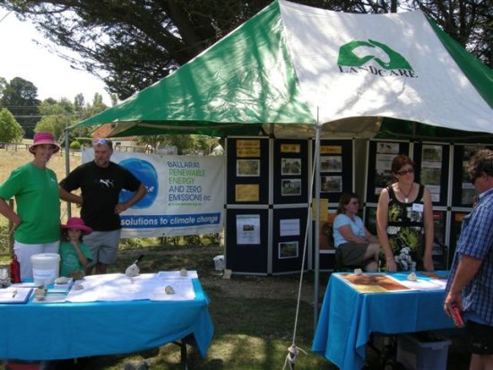 Our stall at the Gold King Festival on 17th Feb - in partnership with BREAZE and Landcare